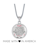 Great Father To My Amazing Remarkable Daughter Necklace Gift Idea for Bi... - $31.95