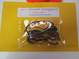 """Vizio 47"""" VO47LFHDTV30A 3647-0152-0150 Main Board Cable [J9] to Keypad Control - $14.95"""