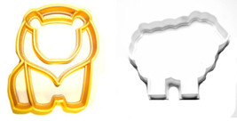 Lion And Lamb Sheep Biblical Church Animal Set Of 2 Cookie Cutters 3D US... - $3.99