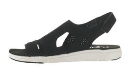 Ryka Stretch Knit Sport Sandals Micha Black 9W NEW A348990 - $52.45