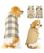Winter Dog Jacket for Cold Weather, Warm Doggie Coats Waterproof Windpro... - $18.20