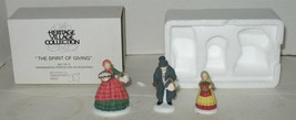 Department 56 Spirit of Giving 3-Pc Christmas Heritage Village Accessory in Box - $9.90