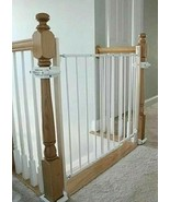 Lot of 2 SAFETY INNOVATIONS No Hole Stairway Baby Pet Safety Gate Mounti... - $38.21
