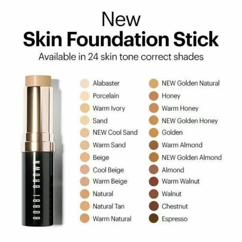 Primary image for Bobbi Brown SKIN Foundation Stick Makeup WARM NATURAL 4.5 FLAWLESS Full Sz NIB