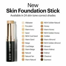 Bobbi Brown SKIN Foundation Stick Makeup WARM NATURAL 4.5 FLAWLESS Full ... - $46.53