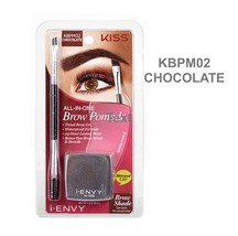 KISS ALL-IN-ONE BROW POMADE KBP02 CHOCOLATE  TINTED BROW GEL  WATERPROOF - $6.99