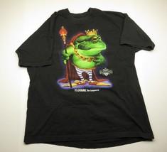 Vtg Guardians Ploogak The Conquerer Graphic Black T-Shirt Adult Size Xl 1995 - $31.64