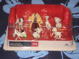 Disney Store 101 Dalamtians Figurine Playset 7 Piece Cake Toppers New - $24.70