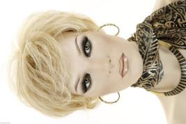 Butterscotch And Champagne Blonde  Short Lace Front Jon Renau Wavy Wigs - $161.57