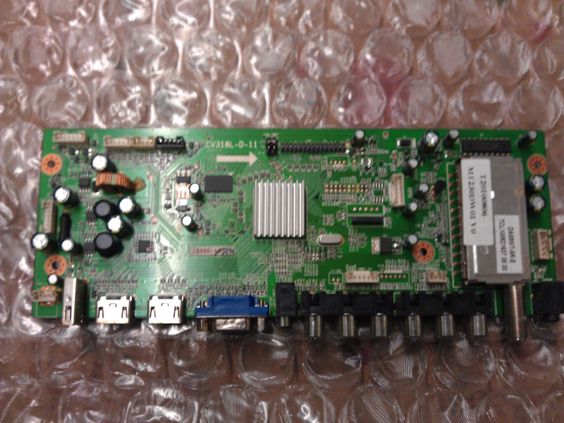 1008H1605 Main Board From Curtis LCD2425A LCD TV