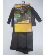 Lego BATMAN Child Deluxe Costume No Mask - Size L/G (10-12) - NWT - $24.99