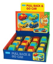 Megcos Toys PULL BACK & GO CAR Value Pack 12 Pa... - $49.99