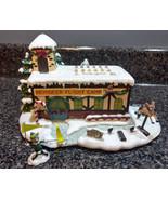 Hawthorne Village Rudolph's Christmas Town Coach Comet's Flight Camp w/ COA - $30.00