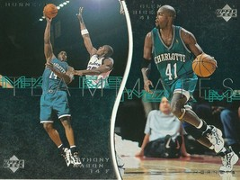 1997-98 Upper Deck Teammates Anthony Mason/Glen Rice (2 Card Set) Hornets! - $1.49