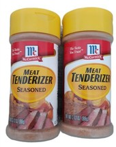 (2) McCormick Meat Tenderizer (Seasoned) Spices New Sealed 3.12 lot BB 6... - $14.80