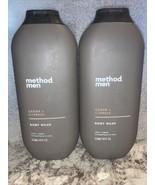 (2) Method Men Cedar + Cypress Body Wash 18oz - $25.22