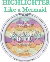 NEW ESSENCE Highlighter 10 Glow Like a Mermaid 10g. with Shimmer Effect - $10.84