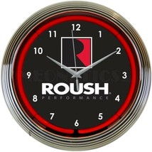 "Roush Performance Wall Mount Light 15"" Neon Clock - $69.00"