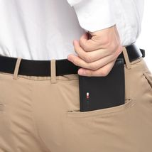 Tommy Hilfiger Men's Premium Leather Credit Card ID Passcase Billfold Wallet image 8