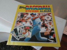 Topps Baseball Sticker Album , 1981 , Almost Complete - $50.00