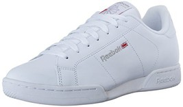 Reebok Men's NPC ii Fashion Sneaker, White/Light Grey, 10 M US - $71.31