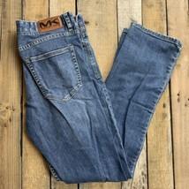 Michael Kors Tailored Fit Blue Jeans Pants Men's Size 32 x 31 - $19.79