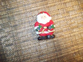 "6#U    SANTA CLAUS Plastic Christmas Tree ORNAMENT  2 1/2"" Tall - $5.53"