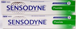Sensodyne Fluoride Toothpaste for Daily Protection [Pack of 2] - $37.00