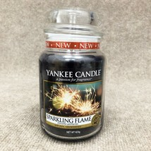 * NEW * Yankee Candle Large Jar Candle, Sparkling Flame (Kayleigh & Co.) - $12.99