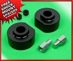 """2"""" Billet Black Lift Kit w/ 5/8"""" Stud Extenders for 81-96 Ford F150 Ranger 4WD - $49.63"""