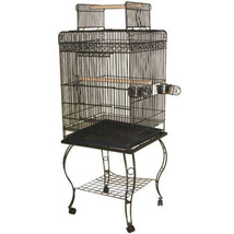 A&E Cage Black Economy Play Top Bird Cage 20x20x58 In 644472017182 - £138.73 GBP