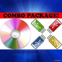 Nuevo & Nave Rápida! Sistema Rescue CD - Reparar/Restaurar Disco Duro Da... - $21.61
