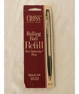 Cross Rolling Ball Rollerball Refill for Selectip Pens 8523 Black Ink - $4.99