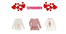 """Gymboree girl """"Play by Heart"""" Collection Sparkle Tees & Peplum Top U PICK 4 5 6 - $16.78+"""