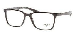New RAY-BAN Rb 8905 5843 Shiny Black Authentic Eyeglasses Frames Rx 55-18-145 - $219.73