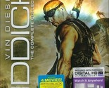 Riddick: The Complete Collection (Blu-ray Disc, 2014, 3-Disc Set, Unrated)