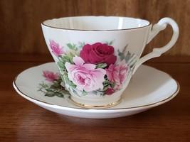 Royal Stuart Roses Teacup & Saucer - $19.95