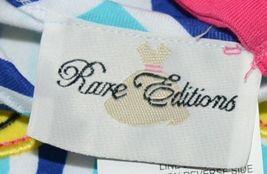 Rare editions Giraffe Shirt Bike Short 2 Piece set Royal blue Size 5 image 7