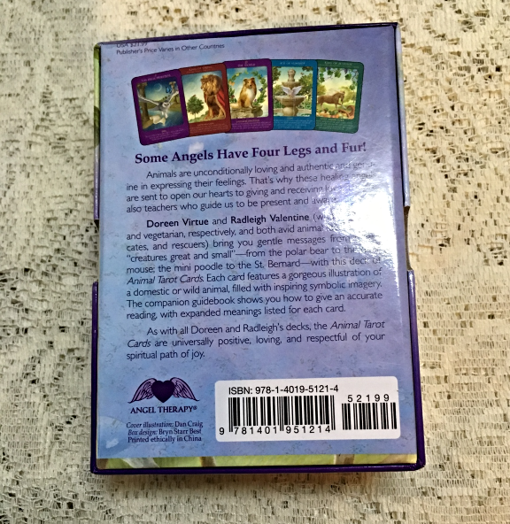 Animal Tarot Cards Card Deck & Guidebook Doreen Virtue & Radleigh Valentine