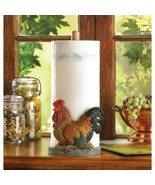 Country Rooster Paper Towel Holder - $24.95