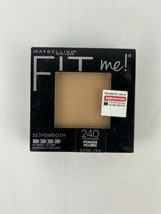 Maybelline New York Fit Me! Finishing Pressed Powder & Mirror #240 Golde... - $4.99