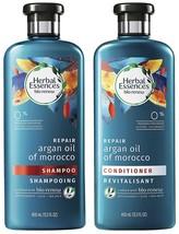 Herbal Essences, Shampoo and Sulfate Free Conditioner Kit, BioRenew Argan Oil of - $27.71