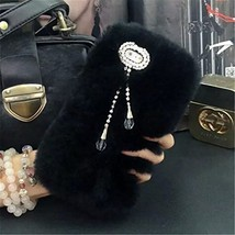 HTC Desire 820 Case,Super Deluxe Luxury Bling Diamonds Bowknot Pendant Fluffy So - $17.81