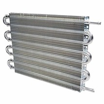 A-Team Performance Aluminum Tube & Fin Universal Transmission Oil Cooler, 15-1/2