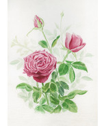 Three Red Roses, A. Rose Designs note card - $5.95+