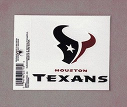 NFL Houston Texans Small Static Decal - $4.99