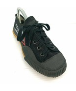 FEIVUE by Tiger Claw Black Canvas Lace Up Martial Arts Sneakers Sz 7 - 7... - $14.84