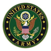 Crazy Sticker Guy Giant Size Magnet - United States Army Official Seal (... - $19.99