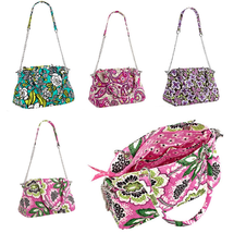 Vera Bradley Chain Bag Handbag Purse Crossbody ... - $89.95