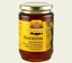 Flower Conifers Honey 450gr-15.87oz from Cretan Mountains Excellent taste - $26.63